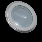 Panel Empotrable LED Redondo Cristal - 12W