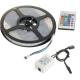 Kit Completo Tiras LED 5050 RGB 5 metros, 30 LED por metro, con Mando a distancia