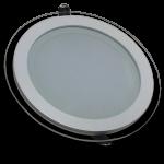 Panel Empotrable LED Redondo Cristal - 18W