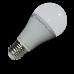 Bombilla LED - 12W E27 A60, Termoplastico