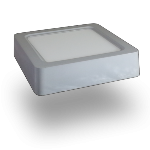 Plafón LED 15W Cuadrado Chip Samsung
