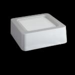Plafón LED 8W Cuadrado Chip Samsung