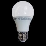 Bombilla LED - 7W E27 A60, 200º 470 lumen