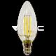 Bombilla LED - 4W Vela E14 Filamento Classic