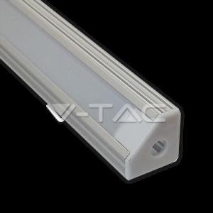 Perfil de Aluminio Esquina Para Tira LED