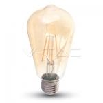 Bombilla LED - 8W Filamento ST64 Amber Cover E27 (EDISON VINTAGE)