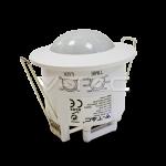 Sensor de movimiento de techo Blanco