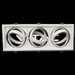 Aro AR111 x3 basculante blanco