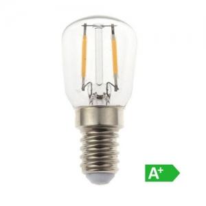 Bombilla LED E14 2w»20W Luz Cálida 180Lm ST26 FILAMENTO