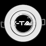 Aro GU10 basculante V-TAC Blanco