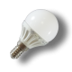 Bombilla LED - 4W E14 P45, Chip Epistar