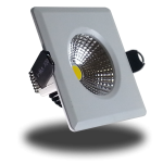 Foco Empotrable LED Cuadrado - 3W