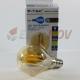 Bombilla LED E14 4W 400Lm P45 Filamento Cristal