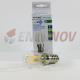 Bombilla LED E14 2W 180Lm ST26 FILAMENTO