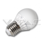 Bombilla LED - 4W E27 G45, Chip Epistar