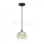 Lámpara de suspensión para bombilla LED E27 3D GLASS